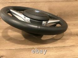 06- 2010 Bmw E60 E63 E64 550 650 Sport Heated Steering Wheel Paddle Shift Oem