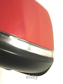 2013-2016 BMW F30 3 Series 328 i Sedan DRIVER Left Side Mirror CAMERA RED OEM
