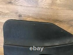 96 1999 Bmw M3 E36 Sedan Rear Left Interior Door Panel Leather Black Wood Oem