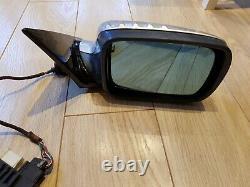 BMW E46 wing mirror O/S coupe convertible POWER FOLD Titan silver electric foldi