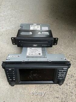 BMW X5 E38 E39 E53 740 750 540 SCREEN RADIO MONITOR and DVD. ORIGINAL
