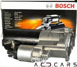 BOSCH 0001125053 Anlasser Starter Audi A4 A6 Exeo Superb 2.0 TDI Schaltgetriebe