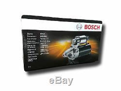 BOSCH Anlasser Starter 0001123012 für AUDI SEAT SKODA VW 1.4 1.9 TDI