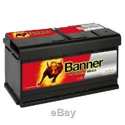 Banner P8820 Power Bull 88Ah Autobatterie sofort einsatzbereit