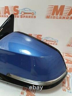 Bmw 1 Series F20 M Sport 5 Door Passenger Nearside Electric Power Folding Mirror