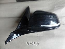 Bmw 1 series f20 passenger side wing mirror electric power folding 5 pin black