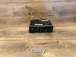 Bmw E30 E32 E34 318i Cm5907 Front Cassette Player Radio Tape Indash Stereo Oem
