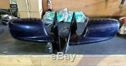 Bmw E46 3 Series Coupe Convertible Wing Mirrors 5+2 7 WIRE, POWER FOLD Electric