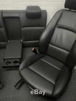 Bmw E92 Coupe Heated Black Electric Leather Power Seats Mint Condition