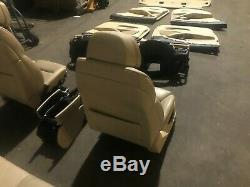 Bmw F10 F11 528 535 550 M5 Oem Front Rear Complete Set Seats Dynamic Seat Sport