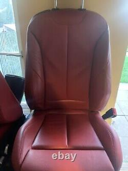 Bmw F32 4 Series Coral Red Electric Power Seats