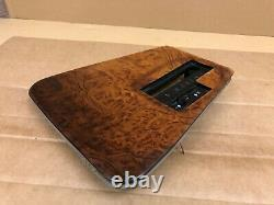 Bmw Oem E32 E34 525 535 735 Center Console Shifter Wood Trim Bezel Panel 88-94
