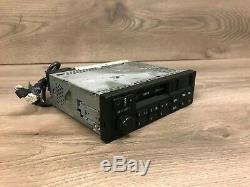 Bmw Oem E34 E36 E32 Front Cassette Player Radio Tape Indash Stereo Cm5903l 91-97