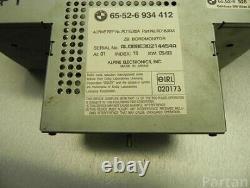 Bmw Oem E38 E39 E53 X5 Wide Screen Navigation Radio Monitor Gps 6934412