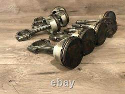 Bmw Oem E39 M5 Engine Motor Pistons Piston With Connecting Rod Set S62 2000-2003