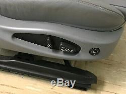 Bmw Oem E46 323 325 328 330 Front Passenger Side Seat Gray Sedan 2000-2005