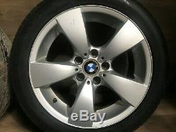 Bmw Oem E60 E61 525 528 530 535 545 550 Front Rear Set Rim Wheel And Tire 17 #3