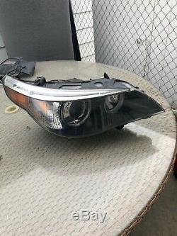 Bmw Oem E60 E61 525 530 545 550 Passenger Side Xenon Headlight 04 05 06 07 Hid