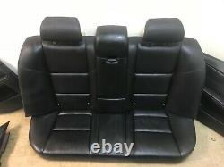 Bmw Oem E60 E61 M5 Seat Front And Rear Set Of Active Seats Black 2004-2010