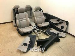 Bmw Oem E63 E64 M6 Convertible Front Rear Leather Seats Seat Set Door Panels