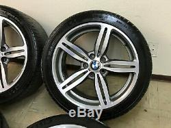 Bmw Oem E63 E64 M6 Front Rear Set Of Rims Wheel Wheels & Tire Staggered 19 Inch