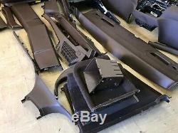 Bmw Oem E70 X5 Front & Rear Seat Seats Door Panel Dash Set Tobacco Brown 07-13