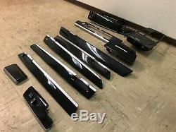 Bmw Oem F01 F02 740 750 760 Front Rear Dash Wood Trim Trims Molding Set 09-15