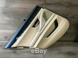 Bmw Oem F10 528 535 550 M5 Rear Driver Side Door Panel With Sunshade 2011-2016