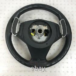 Bmw Oem M5 M6 E60 E61 E63 E64 Front Steering Wheel Airbag Sport Round Black