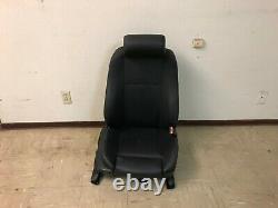 Bmw Oem Oem E39 540 Front Passenger Side Leather Seat Sport Black 1997-2003