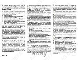 Engine Heater Kit DEFA 411702 + Cables AUDI BMW MERCEDES VOLVO RENAULT & MORE