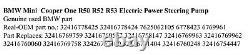 GENUINE BMW Mini Cooper One R50 R52 R53 Electric Power Steering Pump 6778424