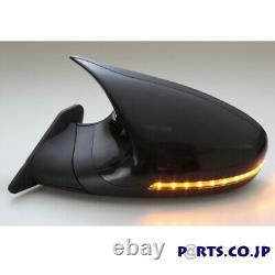 GTS Mirror LED Black Electric adjust LHD For BMW 3 E46