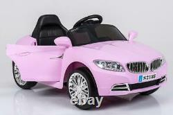 Kids 2x6V 15W TWO MOTORS Battery Powered BMW Style Electric Ride On Toy Car