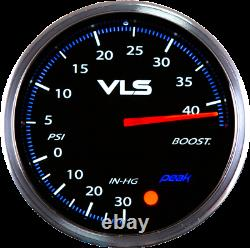 Revel VLS II 52MM Analog Boost Guage Up to 45 PSI Boost Sending Unit Included