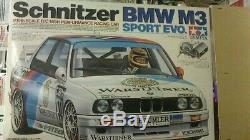 Tamiya 1/10 electric powered radio control kit Schnitzer BMW M3