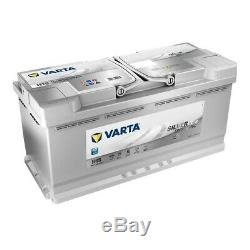 VARTA H15 Silver Dynamic AGM 605 901 095 Autobatterie 105Ah einsatzbereit