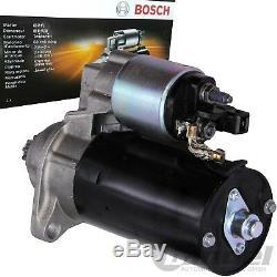 1x Bosch Starter Anlasser Audi A3 Seat Ibiza Vw Golf T5 Touran Polo 1,4 1,9 Tdi