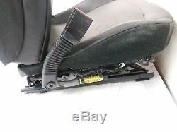 2003-2008 Bmw Z4 E85 2.5 3.0 Pilotes Siège Électrique Noir De Puissance En Cuir