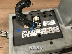 95 2001 Bmw E38 E39 740 540 Navigation Stereo Cassette Monitor Carte Headunit Oem