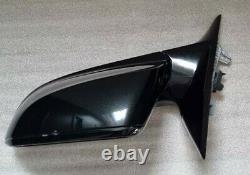 Bmw 3 Series F30 Passager Gauche Côté Aile Miroir Noir 5 Broches Puissance Pliage