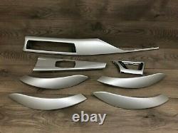 Bmw 320 328 Oem F30 335 Dash Faces Avant Et Porte Garniture En Aluminium Set Sedan 12-16