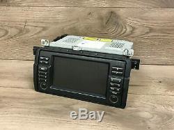 Bmw 325 328 Oem E46 330 M3 Large Écran De Navigation CD Radio Gps Moniteur 2000-2006