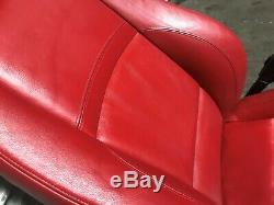 Bmw 325 328 Oem E92 335 Côté Passager Avant Siège Rouge Coupé 2 Portes Seulement 07-13