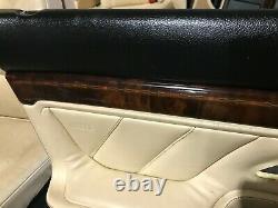 Bmw 750 E38 Oem Et Sièges Avant Du Siège Arrière Porte Panneaux Panneau Boiseries Set 95-01