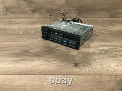 Bmw Cm5903l E34 E30 E32 318i Lecteur De Cassette Avant Radio Am Fm Bande Stereo Oem 2