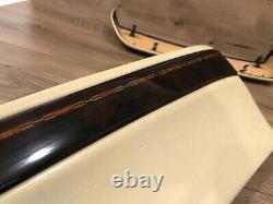 Bmw E38 740i 740il 750i 750il Avant Siège Supérieur Panneaux De Garniture En Bois Set Oem