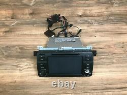 Bmw E46 325 328 330 M3 Front On Board Wide Screen CD Navigation 2000-2006