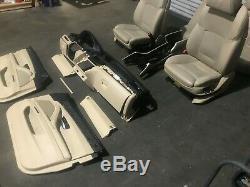 Bmw F10 F11 528 535 550 M5 Oem Avant Arrière Sièges Set Complet Dynamic Seat Sport
