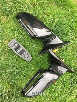 Bmw F32 F33 F36 4 Series LCI M Sport Electric Power Fold Wing Mirrors Complete